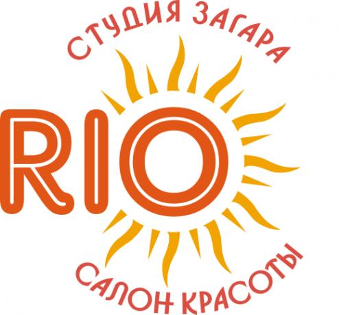 Логотип компании Рио - студия загара